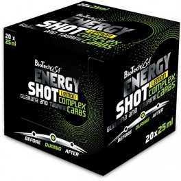 BioTechUSA Energy Shot 20 ampollas x 25 ml
