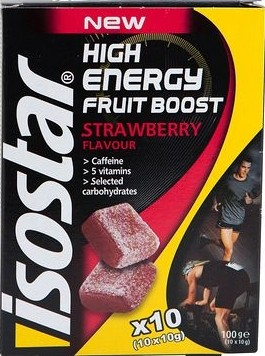 Isostar Gominolas High Energy Fruit Boost 10 gominolas x 10 gr