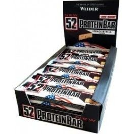 Weider 52% Low Carb Protein Bar 24 barritas x 50 gr