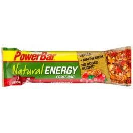 PowerBar Natural Energy Frutas 1 barrita x 40 gr