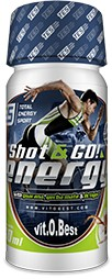 VitObest Shot & Go! Energy 1 vial x 60 ml