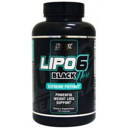 Nutrex Lipo 6 Black Hers Extreme Potency 120 caps