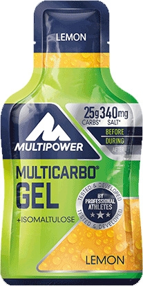 Multipower Multicarbo Energy Gel con Isomaltulosa 1 gel x 40 gr