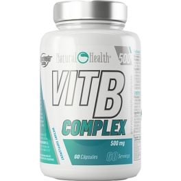 Hypertrophy Natural Health VIT B Complex 60 caps