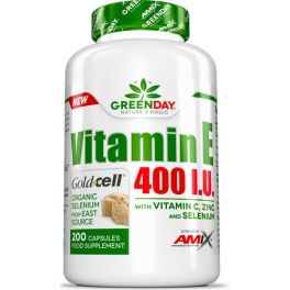 Amix GreenDay Vitamin E 400 I.U. LIFE+ 200 caps