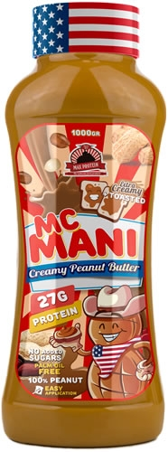 Max Protein Mc Mani Peanut Butter - Mantequilla de Cacahuete 1000 gr