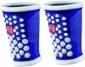 Compressport Muñequeras Wrist Band Azul-Blanca