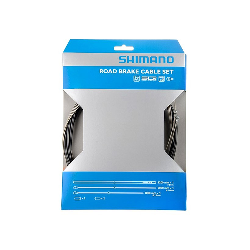 Shimano Cable Freno/funda/topes Ctra Negro