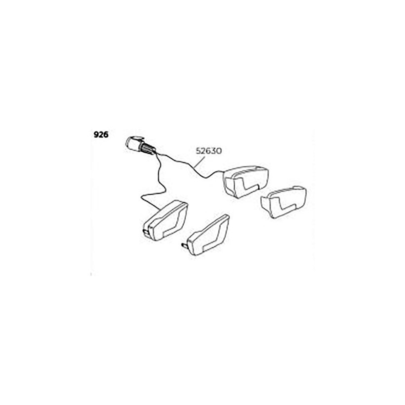 Thule Juego Luces Th Minipoint 13p 926/924