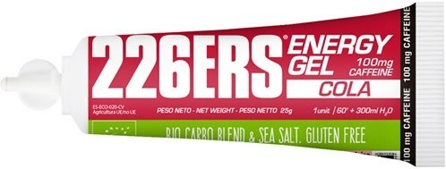 226ERS Energy Gel BIO Cola con 100 mg de Cafeina - 1 gel x 25 gr