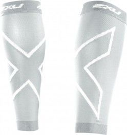 Medias de Compresión 2XU Medias Compression Calf Guard Punto BLANCO