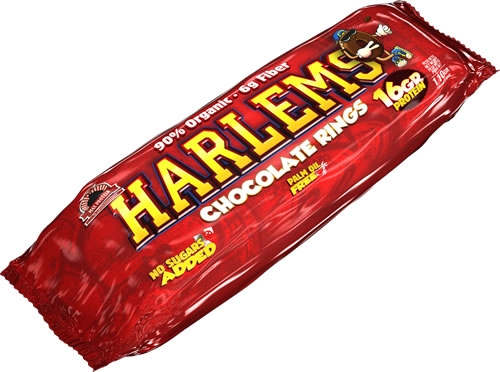 Max Protein Harlems Chocolate Rings - Rosquillas de Chocolate 9 unid x 110 gr