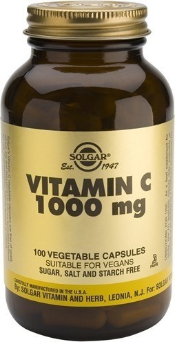 Solgar Vitamina C 1000 mg 100 caps