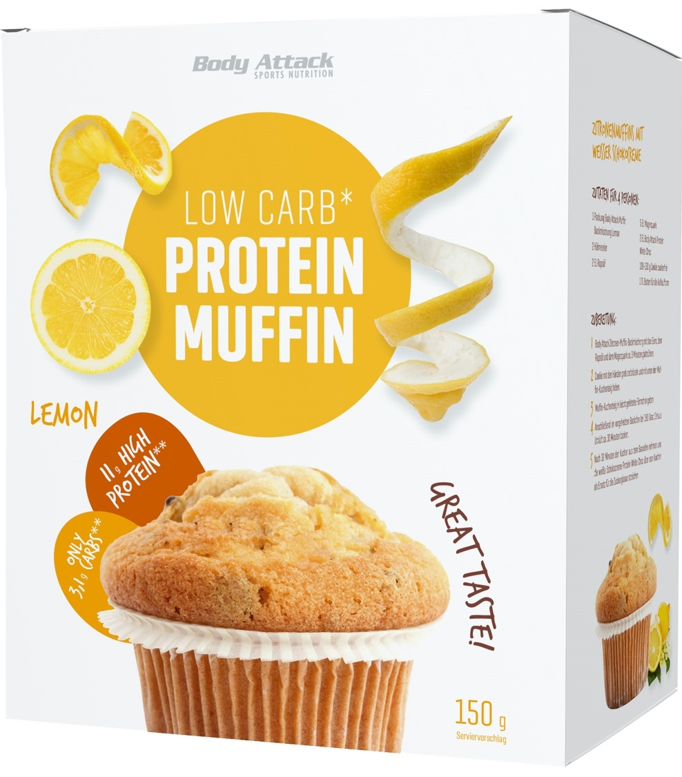 Body Attack Sports Nutrition Low Carb Protein Muffin 150 gr