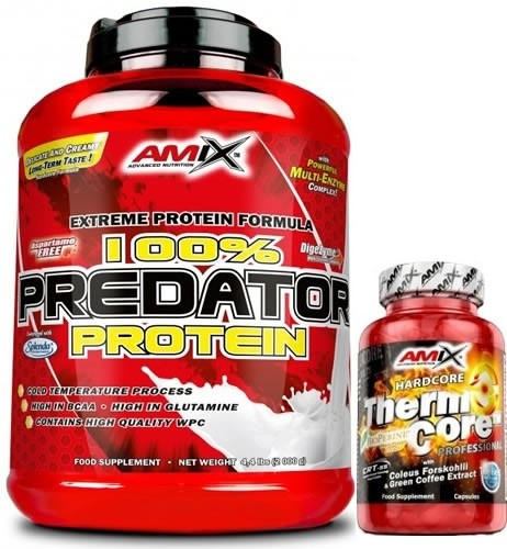 Pack Amix Predator Protein 2 kg + ThermoCore 30 caps