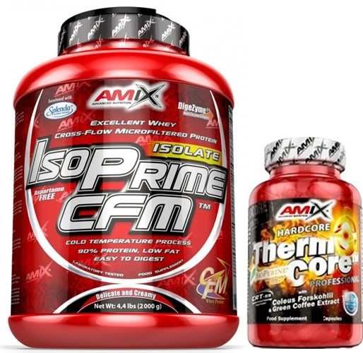 Pack Amix IsoPrime CFM Isolate 2 kg + ThermoCore 30 caps
