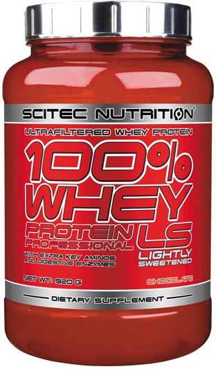 Scitec Nutrition 100% Whey Protein Professional LS 920 gr