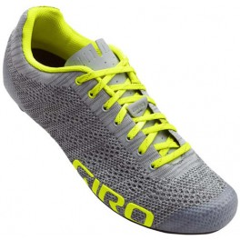 Giro Zapatillas Empire E70 Knit 2018 Gris-Amarillo Fluor