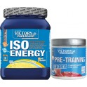Pack Victory Endurance Iso Energy (Isotonico) 900 gr + Pre-Training Storm 60 gr