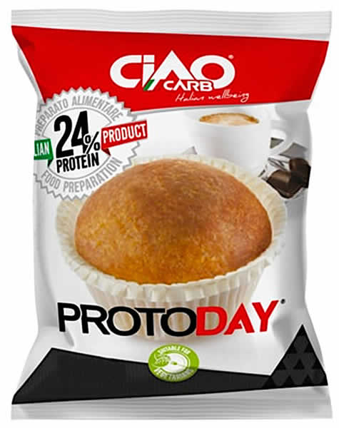 CiaoCarb ProtoDay Muffin Fase 1 - 1 muffin x 50 gr