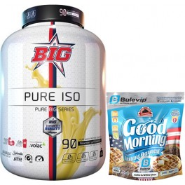 Pack BIG Pure Iso Pure Big Series 1.8 kg + Max Protein Harina de Avena Morning Edicion Limitada Bulevip 500 gr