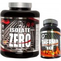 Pack Life Pro Isolate Zero 2 kg + Thermo 10 30 tabs