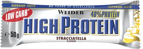 Weider 40% Low Carb High Protein Bar 1 barrita x 50 gr