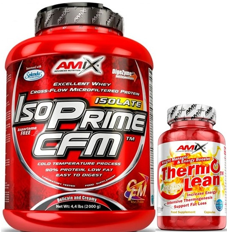 Pack Amix IsoPrime CFM Isolate 2 kg + ThermoLean 30 caps