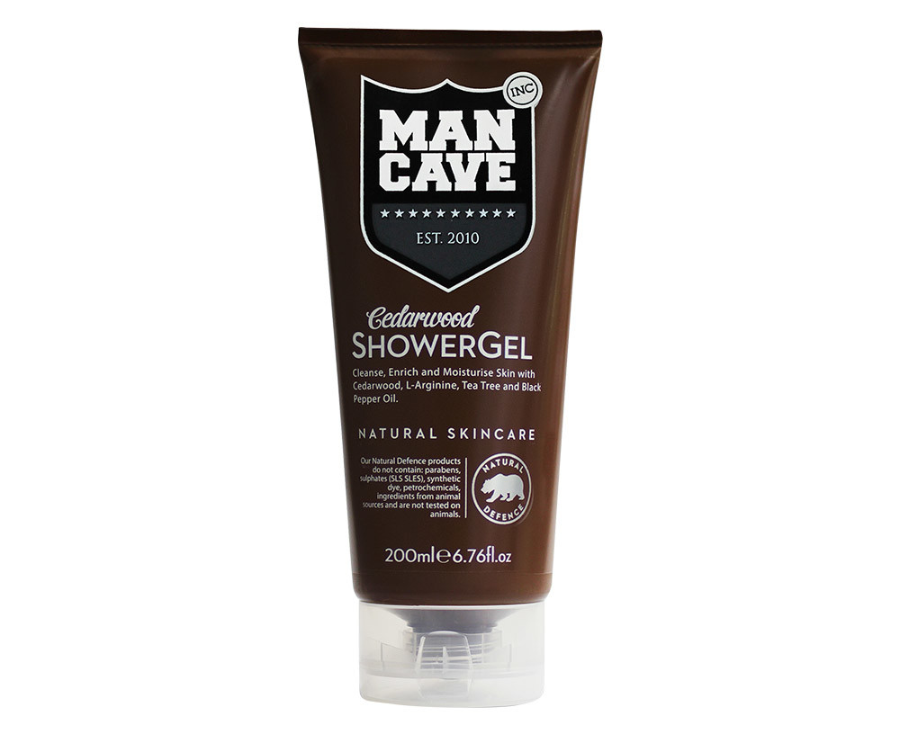 Mancave Body Care Cedarwood Gel De Ducha 200 Ml Hombre