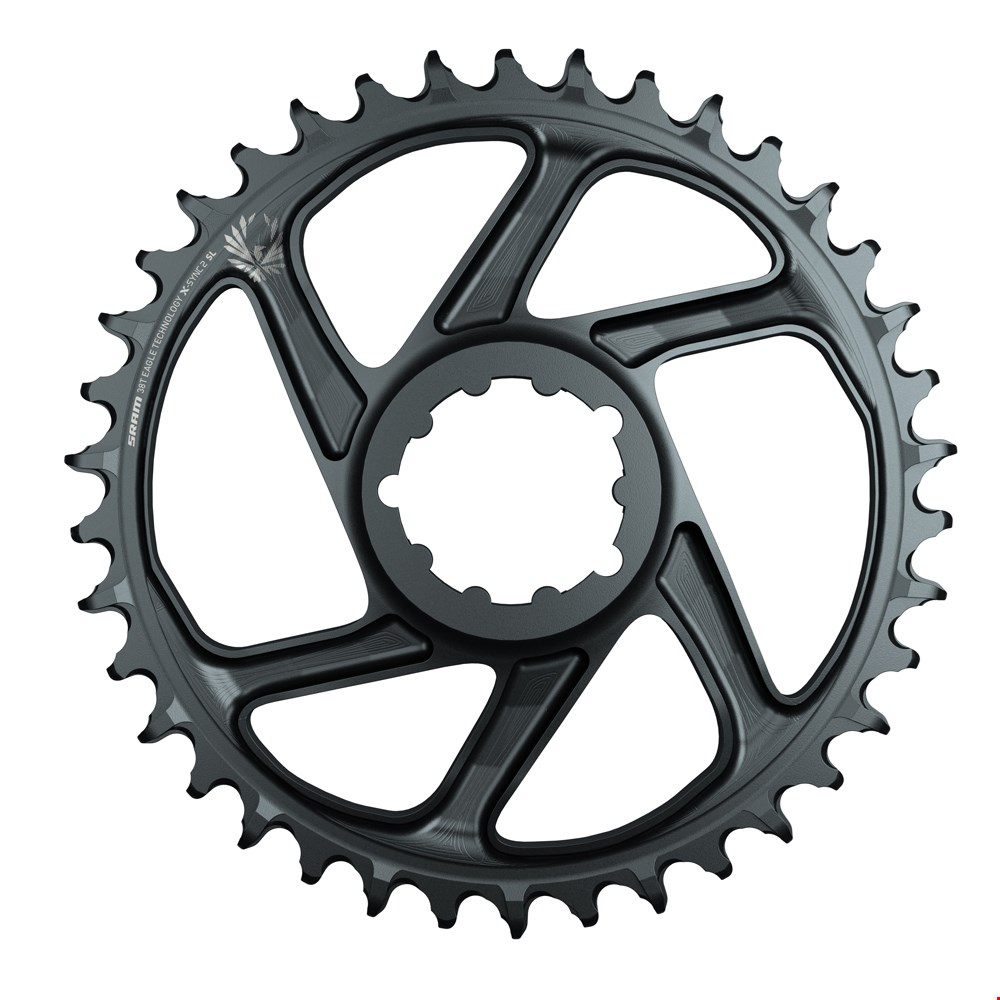 Sram Plato X-sync 12/11v Eagle 34d Dm 6mm Lunar Grey