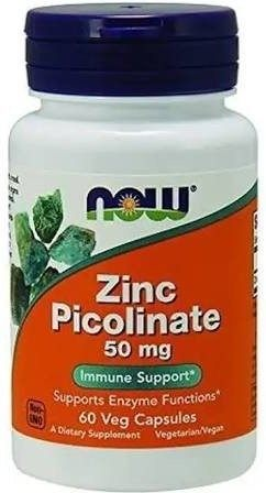 Now Picolinato De Zinc 60 Caps