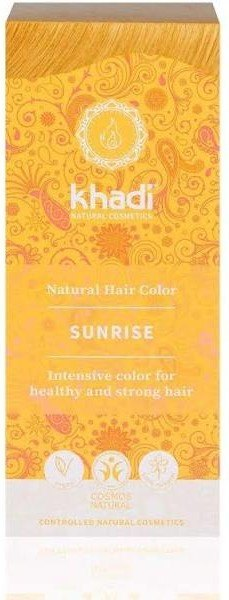 Khadi Herbal Color Rubio Amanecer-miel (Sunrise) 100 G