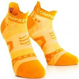 Compressport Pro Racing Socks Run Ultralight Low Cut - Naranja