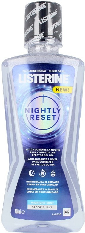 Listerine Nightly Reset Enjuague Bucal 400 Ml Unisex