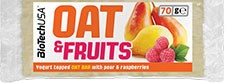 BioTechUSA Oat & Fruits 1 barrita x 70 gr