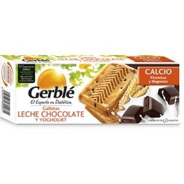 Gerblé Galletas Leche Chocolate y Yogurt 46 gr pack